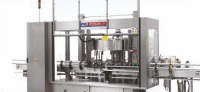 Etykieciarka modular fix - opuszczane frontowe osłony zabezpieczające i gilotynowe osłony karuzeli