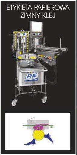 Etykieciarka modular top - etykieta papierowa i zimny klej